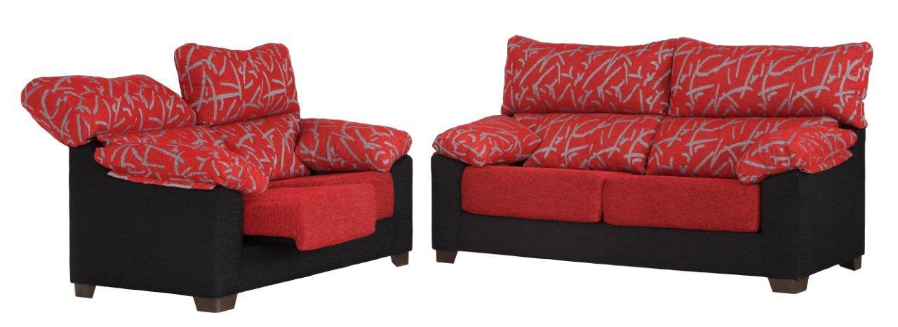 Conjunto sofá 3 más 2 plazas