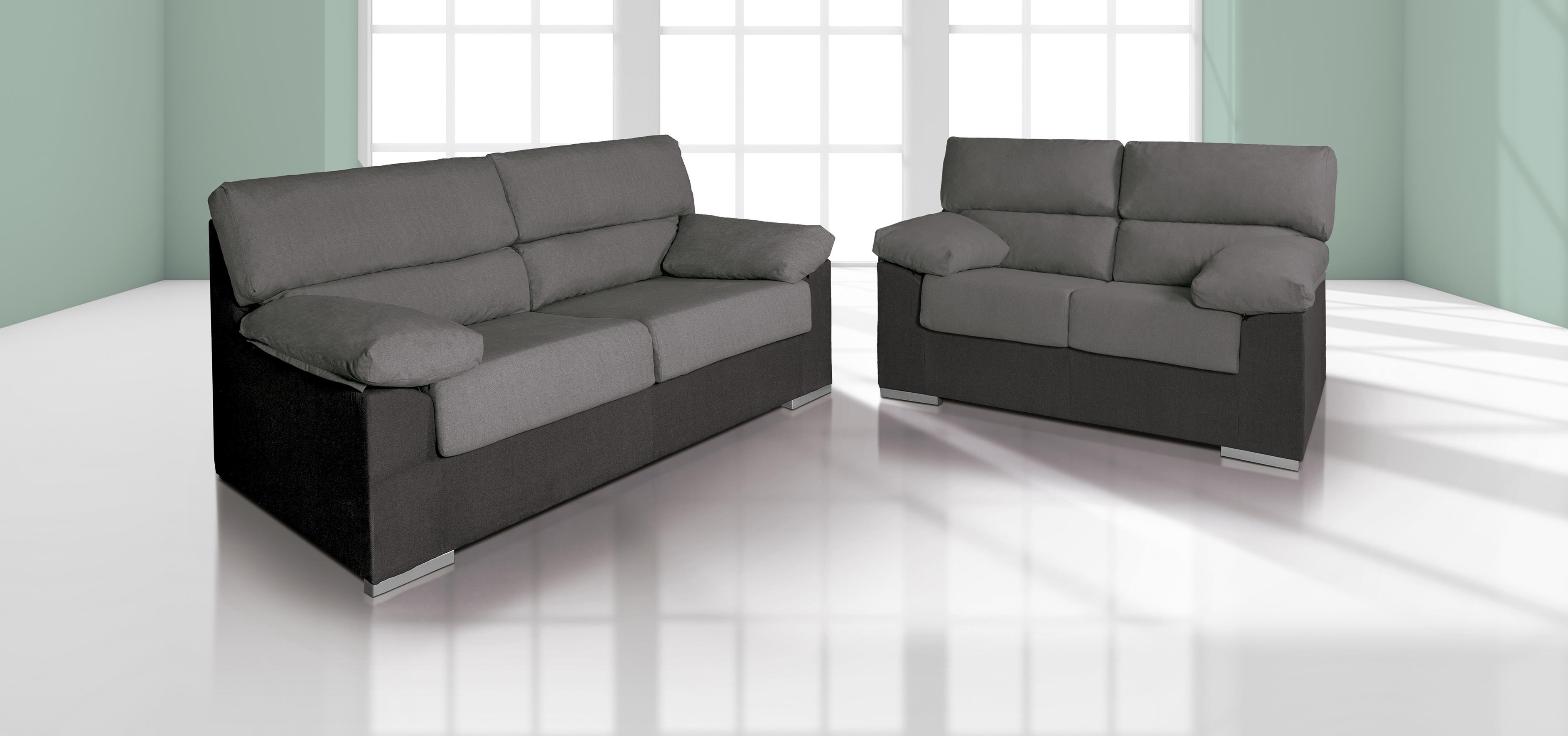Sof 3 plazas m s sof 2 plazas muebles bandama - Sofas de ocasion ...