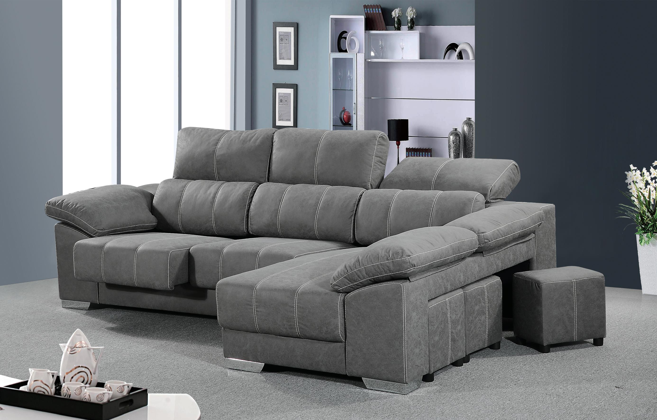 Chaisselongue m s 3 plazas muebles bandama for Muebles bandama