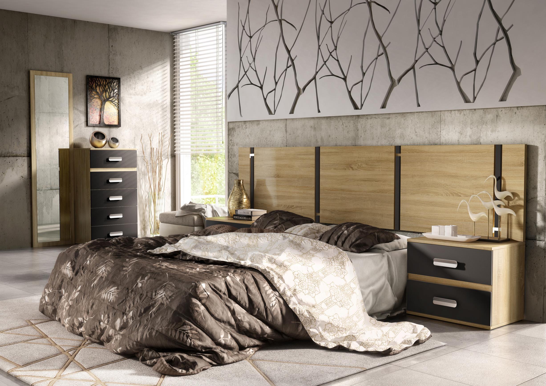 Conjunto dormitorio de matrimonio | Muebles Bandama