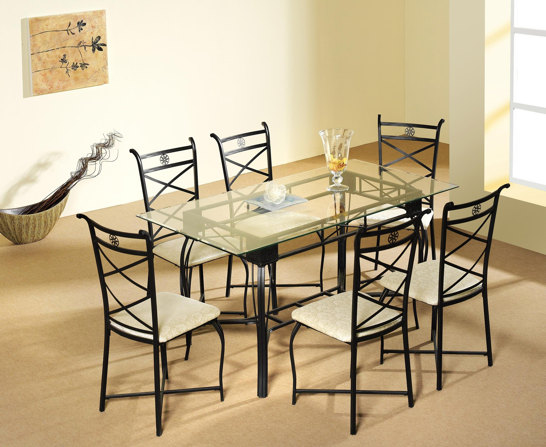 Mesa de comedor m s 6 sillas muebles bandama for Mesa comedor 6 sillas