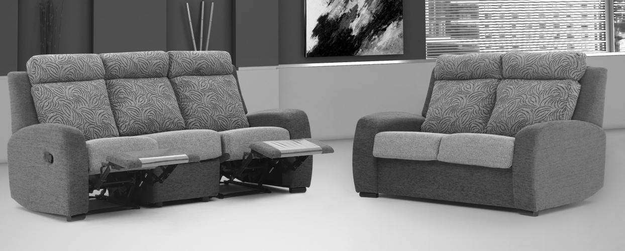 Conjunto sofá 3+2 plazas